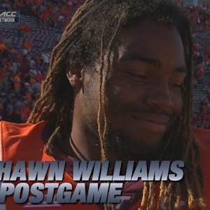 Virginia Tech Running Back Marshawn Williams Talks Win Over Western Michigan