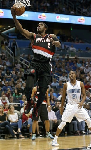 Magic beat Blazers 110-104 to end 12-game skid