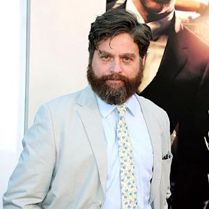 Zach Galifianakis Takes Once Homeless Friend to Hangover III Premiere