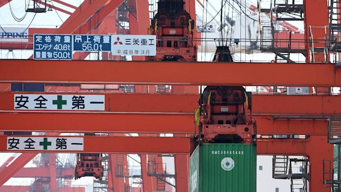 Japan's trade deficit more than quadruple year-on-year in June with exports sagging while imports grow