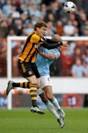 Soccer - Barclays Premier League - Hull City v Manchester City - KC Stadium