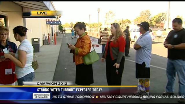 Strong voter turnout expected in San Diego County