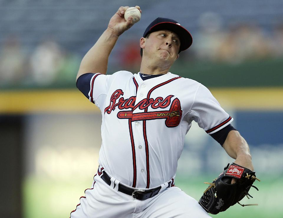Simmons, Gattis, Medlen lead Braves past Mets