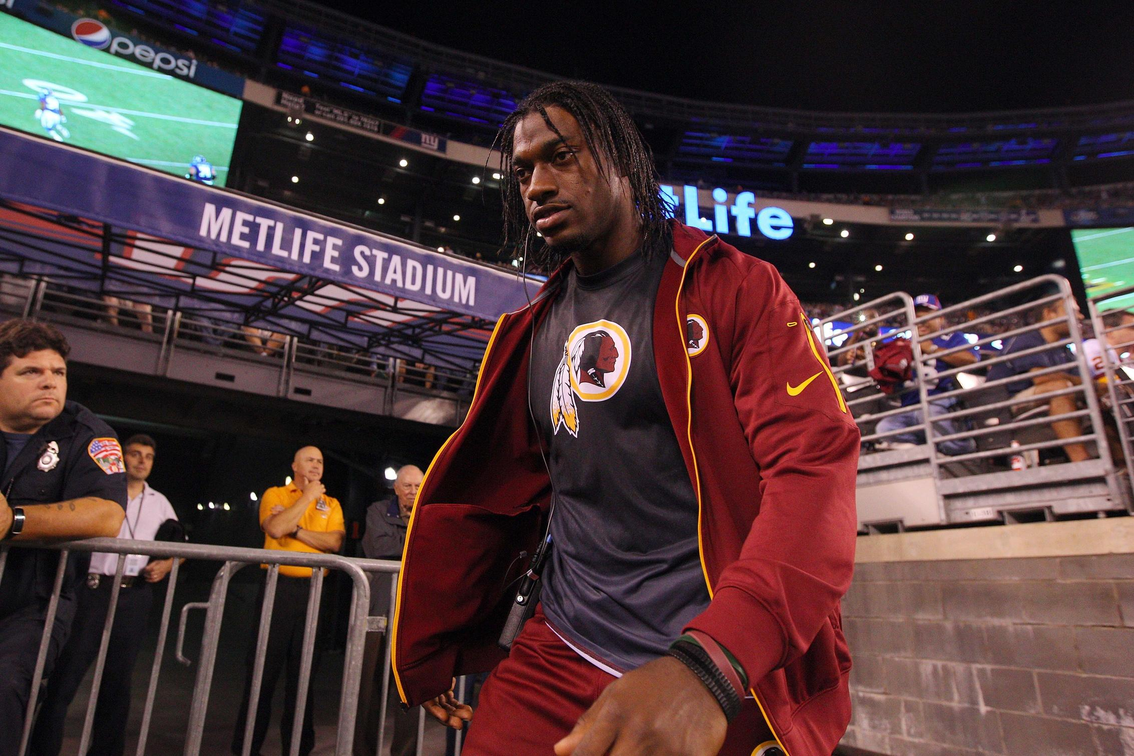 Robert Griffin III's Statue At Baylor Vandalized, Rival Fans Suspected