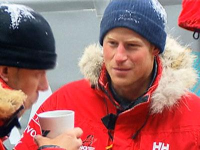 Raw: Deep Freeze for Harry Before Expedition