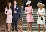 Kate Middleton, ou l'art de recycler royalement une robe à 1 500 euros