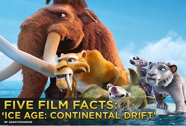 Five Film Facts Ice Age Continental Drift