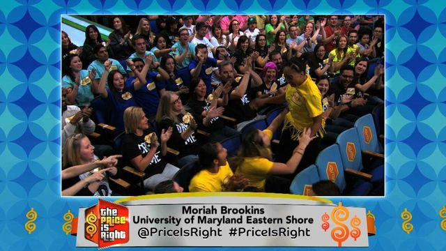 The Price Is Right - Moriah from University of Maryland Eastern Shore