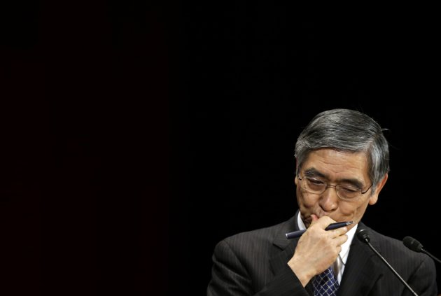 BOJ Governor Kuroda attends the International Conference on the Future of Asia in Tokyo