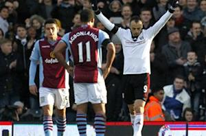 Fulham 2-0 Aston Villa: Berbatov shines as Cottagers end winless run