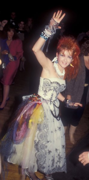 At the American Music Awards, 1984