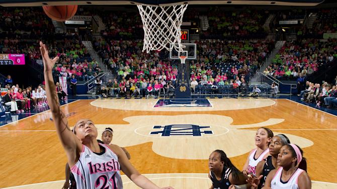 NCAA Womens Basketball: Cincinnati at Notre Dame