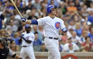 Rizzo leads Cubs to 13-9 win against Pirates