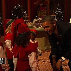 First family attends holiday benefit concert