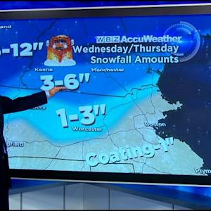 WBZ AccuWeather Afternoon Forecast For March 10