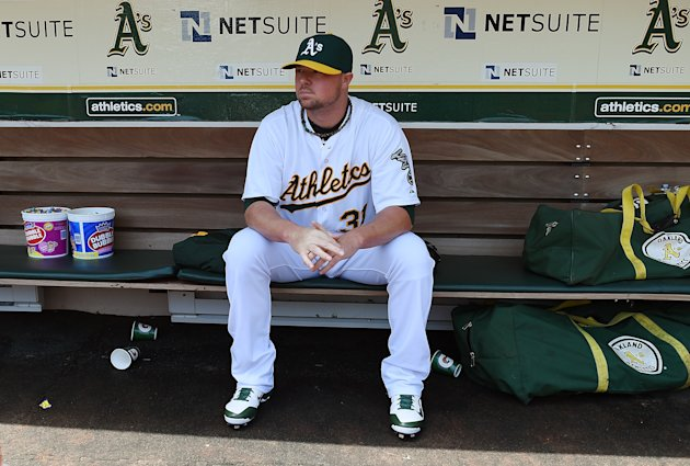Jon Lester, not in pinstripes. (Getty Images)