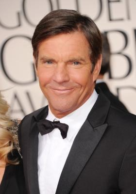 Dennis Quaid arrives at the 68th Annual Golden Globe Awards held at The Beverly Hilton hotel in Beverly Hills on January 16, 2011  -- Getty Images