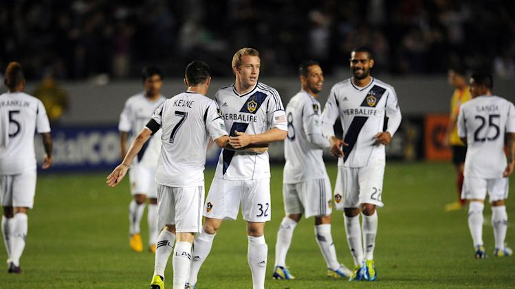 MLS: Champions League-Herediano at Los Angeles Galaxy