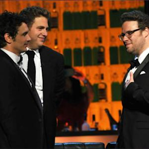 "Seth Rogen Calls Process Of Promoting Movies A ""Massive Bulls--t Machine"" In Bromantic Interview With James Franco"