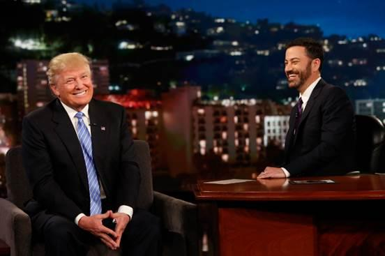 Donald Trump Appears on 'Kimmel,' The Weeknd Cancels Performance