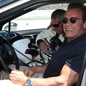 Drivers impersonate Arnold Schwarzenegger