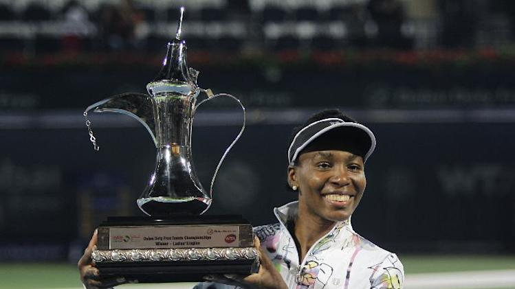 Venus Williams wins Dubai title for 3rd time