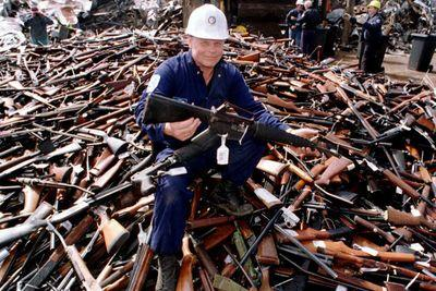 Australia confiscated 650,000 guns. Murders and suicides plummeted.