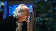 This film image released by The Weinstein Company shows Christopher Lloyd in a scene from &quot;Piranha 3DD.&quot; (AP Photo/The Weinstein Company)