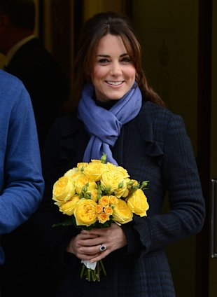 Pregnant Kate Middleton Beams As She Leaves Hospital, Reveals She's 'Feeling Much Better'