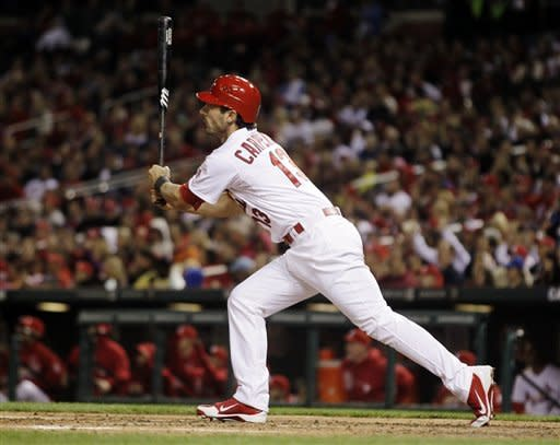 Cardinals score 8 in 3rd in 13-1 win over Brewers