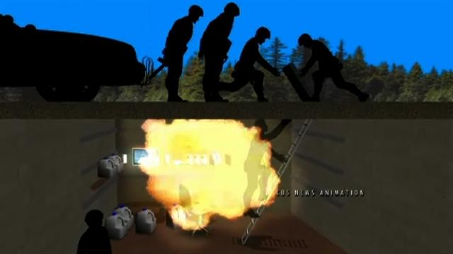 CBS News animation: Ala. hostage bunker standoff