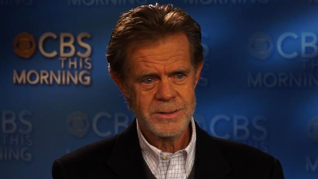 """Shameless"" actor William H. Macy on motorcycle riding"