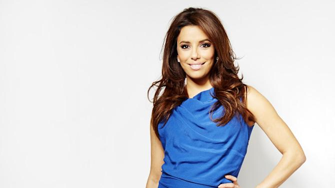 """In this Thursday, March 7, 2013 photo, chosen as the face of the new SHEBA global campaign """"Follow Your Passion,"""" actress and executive producer Eva Longoria poses for a portrait, in New York. The actress, who just wrapped a movie called """"Frontera"""" alongside Ed Harris and Michael Pena, is also busy behind-the-camera too as an Executive Producer on two upcoming television shows. (Photo by Dan Hallman/Invision/AP)"""