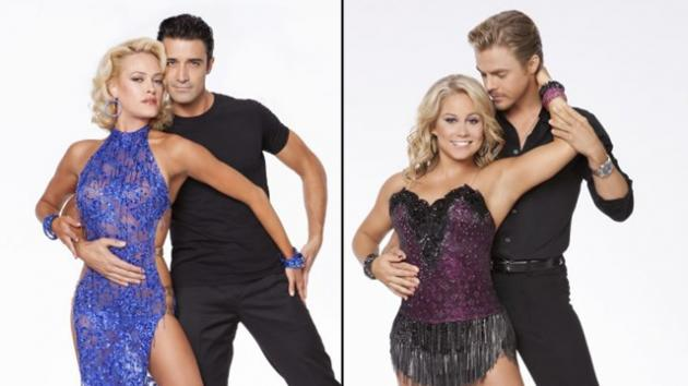 Peta Murgatroyd and Gilles Marini, Shawn Johnson and Derek Hough -- ABC