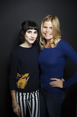 Artist Langley Fox Hemingway, left, and actress Mariel Hemingway from the film &quot;Running From Crazy&quot; pose for a portrait during the 2013 Sundance Film Festival on Sunday, Jan. 20, 2013 in Park City, Utah. (Photo by Victoria Will/Invision/AP Images)