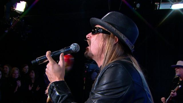 Kid Rock Sings 'All Summer Long' on 'GMA'
