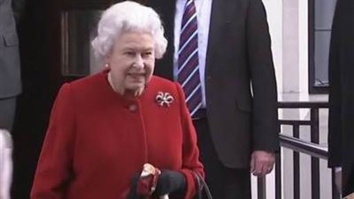 Queen Leaves Hospital After …