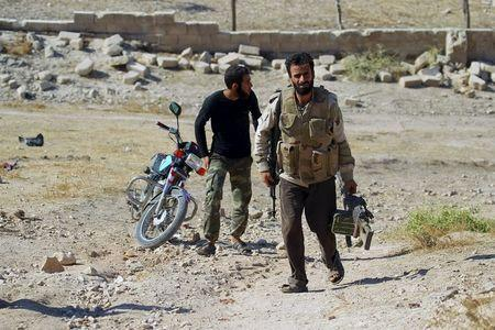 Syrian rebels fortify frontline with anti-tank missiles