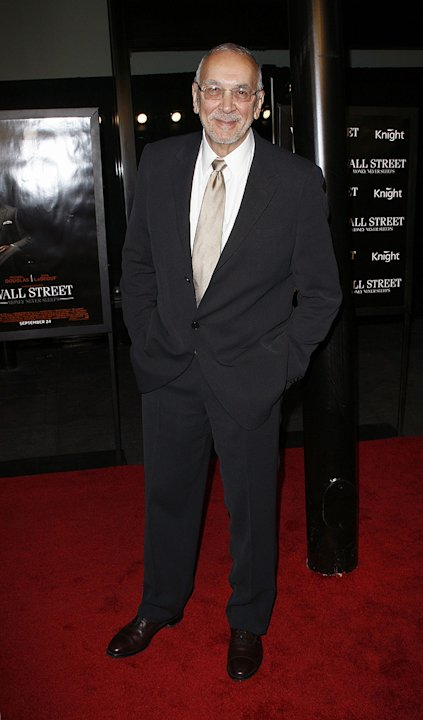 Wall Street: Money Never Sleeps NYC Premiere 2010 Frank Langella