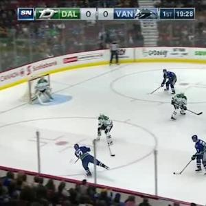 Kari Lehtonen Save on Radim Vrbata (00:35/1st)