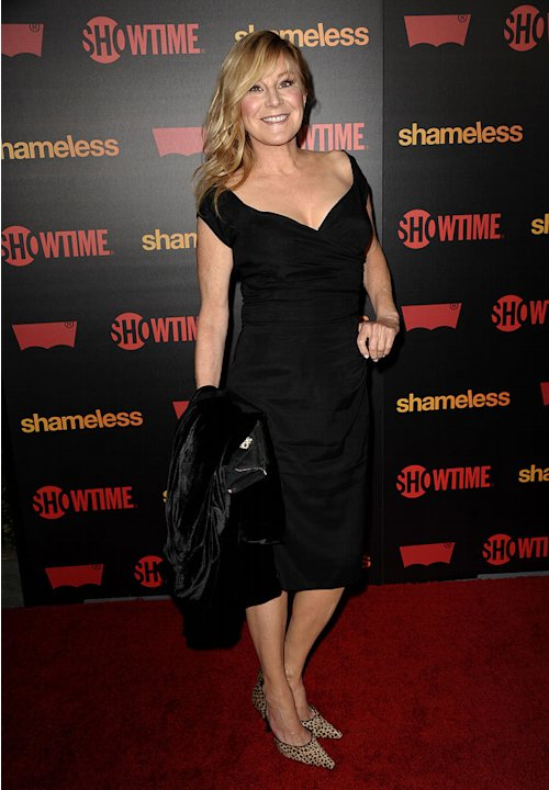 "Chloe Webb attends the ""Shameless"" Season 2 Reception at Haus Los Angeles on January 5, 2012 in Los Angeles, California."