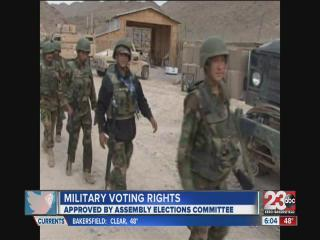 Military Voting Rights