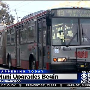 Muni Rolling Out Biggest Service Improvements In Decades