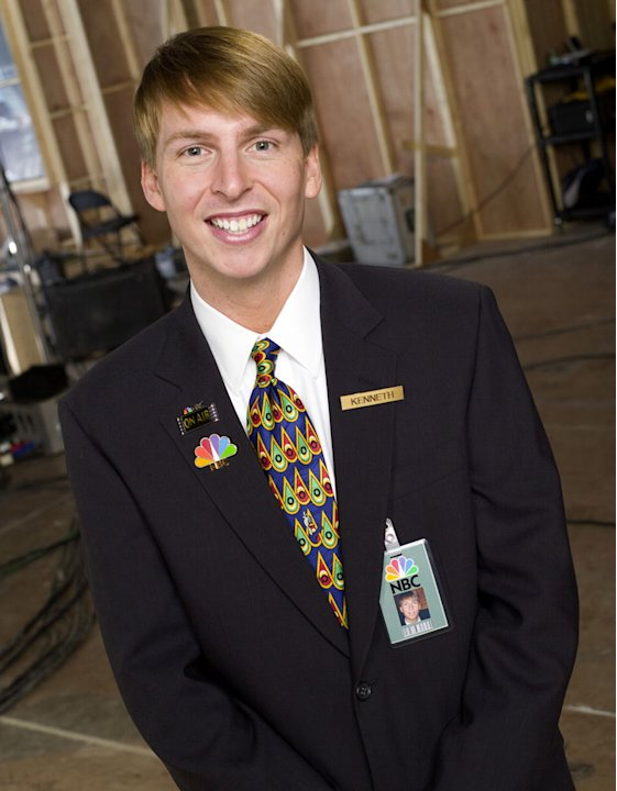 Jack McBrayer stars as Kenneth in 30 Rock on NBC.