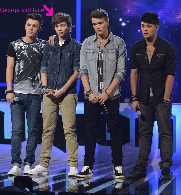 Union J, George Shelley, X Factor