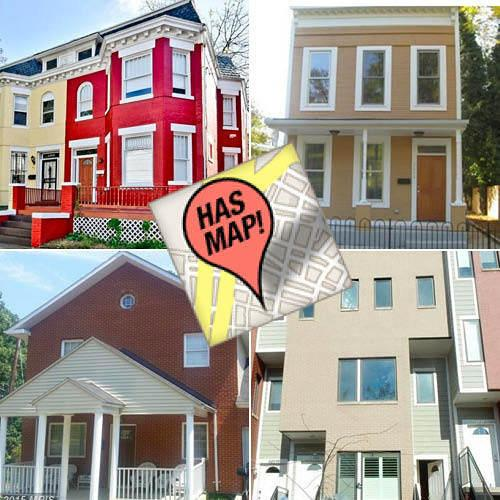 The 10 Most Expensive Houses For Sale in Anacostia, Mapped