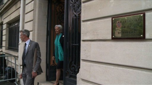 Affaire Tapie: fin de l'audition de Christine Lagarde. Durée: 00:25