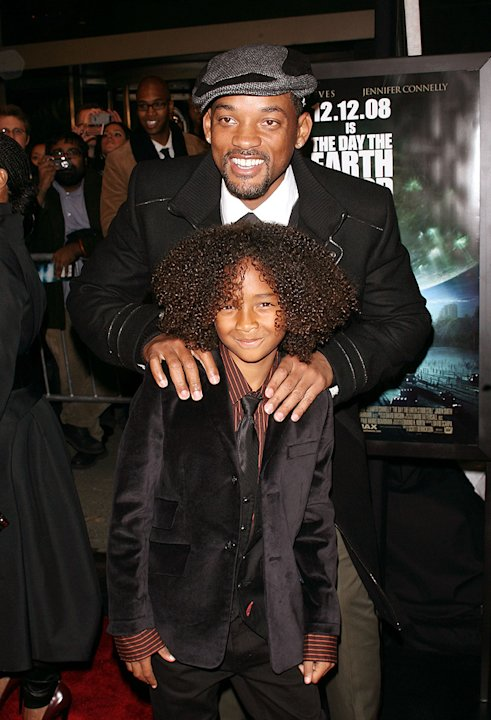 The Day the Earth Stood Still NY Premiere 2008 Will Smith Jaden Smith