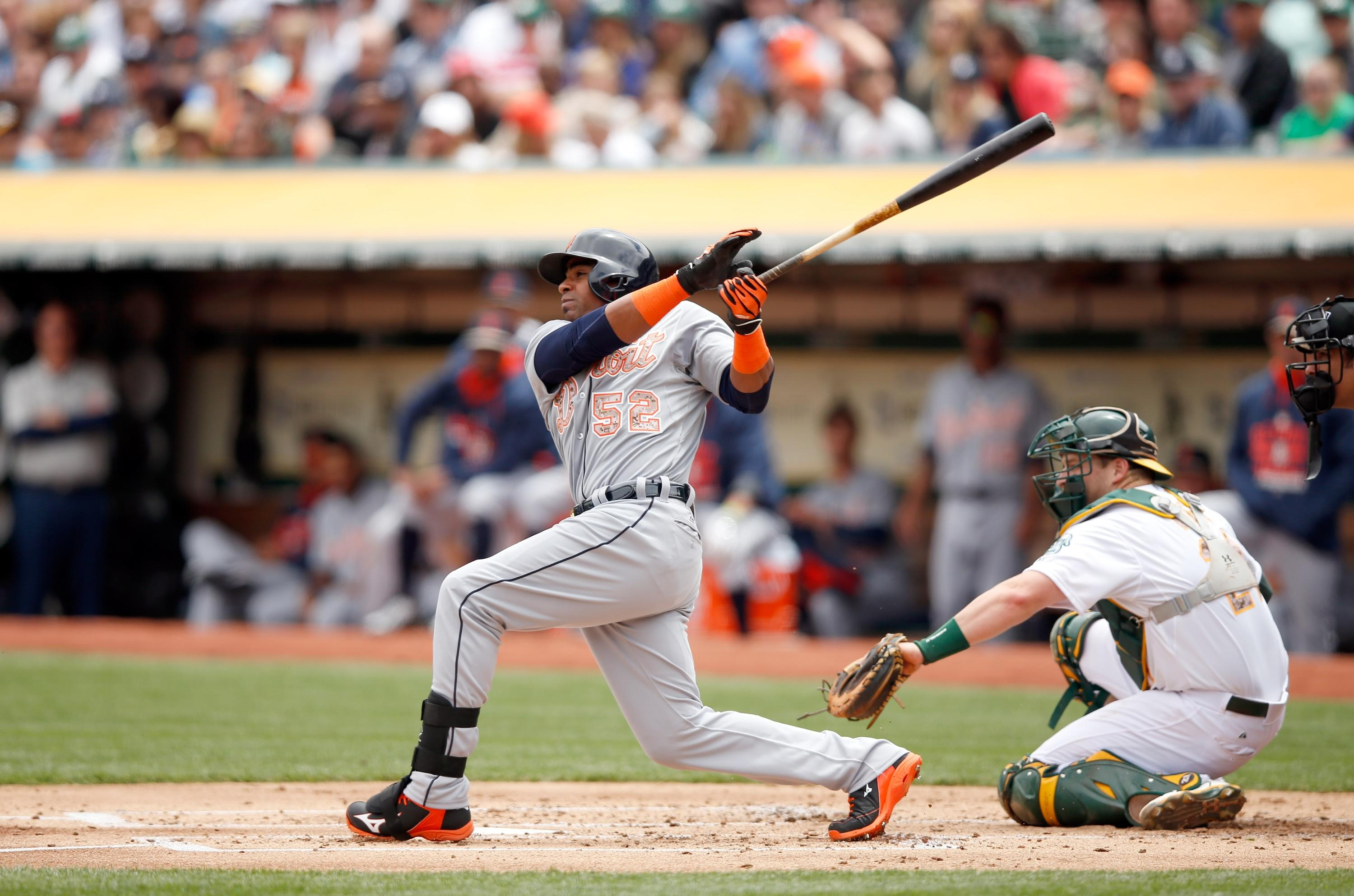 Yoenis Cespedes on A's: 'Don't they want to win a championship?'