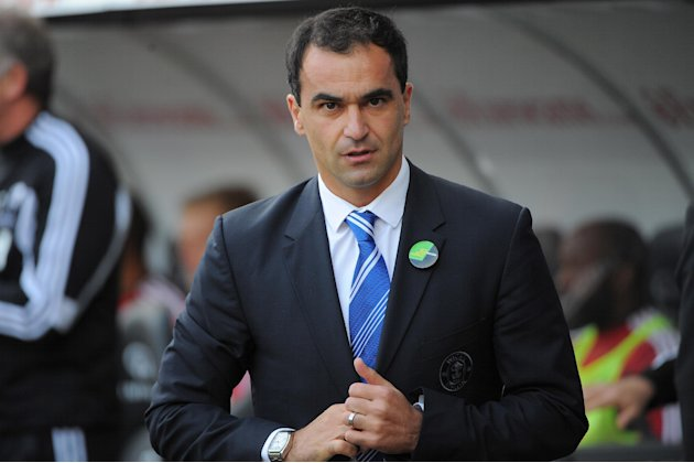 Roberto Martinez is glad he stayed at Wigan